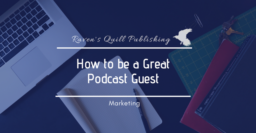 podcast guest-ravens quill publishing